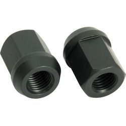 Open alumminium wheel nuts RACES professional, different