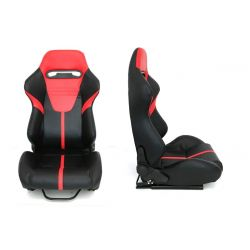 Racing seat R-LOOK II PVC
