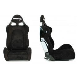 Racing seat CUGA Bride style Black suede
