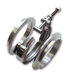 "V-band clamp flanges kit 70mm (2,75"")"