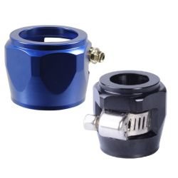 Hex hose finisher clamp, different diameters