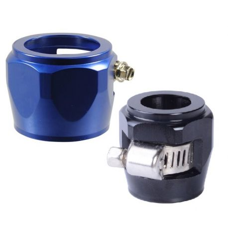 Hose clamps and sleeves Hex hose finisher clamp, different diameters   races-shop.com