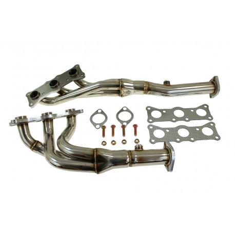 E90/ E91 Stainless steel exhaust manifold BMW E90 E91 325i, 330i   races-shop.com