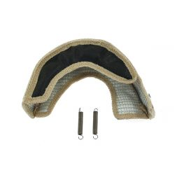Turbo exhaust blanket T25/T28 black Type 7