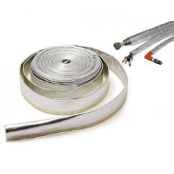 Thermo Sleeve provides protection from radiant heat for hoses and wires. RACES, 10mm x 10m