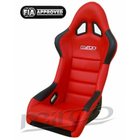Sport seats with FIA approval FIA sport seat MIRCO GT Vynil | races-shop.com