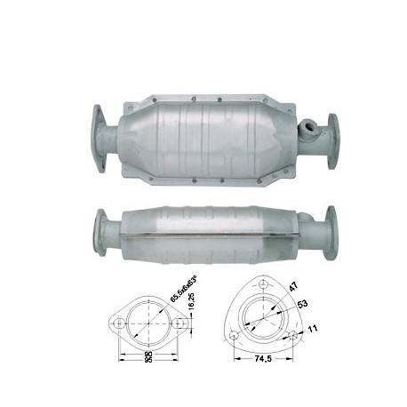Catalytic Converter Shop Near Me >> Magnaflow Catalytic Converter For Honda 187 00 Races Shop Com