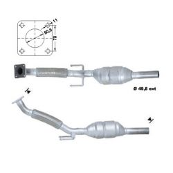 Magnaflow Catalytic Converter for SEAT SKODA VOLKSWAGEN