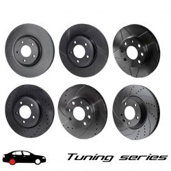 Rear brake discs Rotinger Tuning series 1243, (2psc)