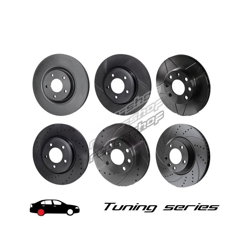 Alfa Romeo 147 1.6 TS 16v 120 Front Drilled Discs Pads
