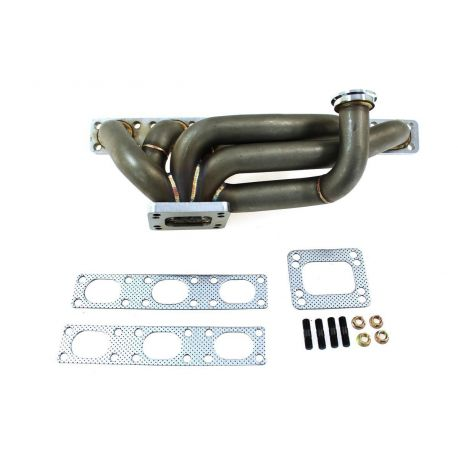 Stainless steel exhaust manifold BMW E36 M50 turbo | races-shop com