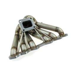 Stainless steel exhaust manifold Toyota Supra 2JZ-GTE (external wastegate output)