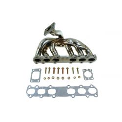 Stainless steel exhaust manifold Toyota 1JZ-GTE (external wastegate output)