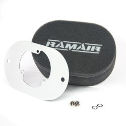 Twin inlet Carburettor filter Ramair for Pierburg 2E2/2E3/2E-E