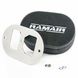Twin inlet Carburettor filter Ramair for GM Varajet II