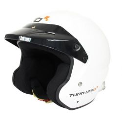 Helmet Turn One Jet-RS with FIA 8859-2015, Hans
