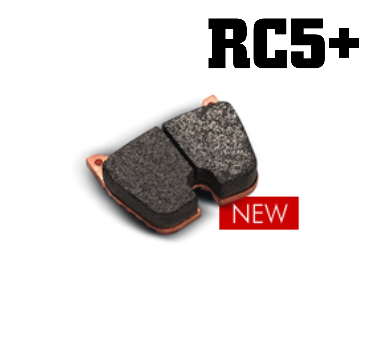 Set of 4 RC6 Compound Carbone Series 5000 Racing Caliper Brake Pads