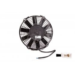 Universal electric fan SPAL 225mm - suction, 24V
