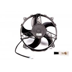 Universal electric fan SPAL 280mm - suction, 24V