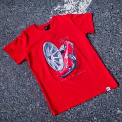 T-shirt JR-Wheels JR-11 red