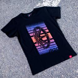 T-shirt JR-Wheels JR-20 Black