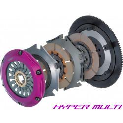 Clutch Kit Exedy Racing Hyper Multi Twin Cerametallic, Sprung