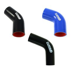 "Silicone elbow 67° - 45mm (1,77"")"