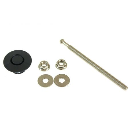Stainless steel bonnet pins PUSH CLIP mini (1psc)