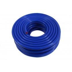 Silicone braided vacuum hose 18mm, blue
