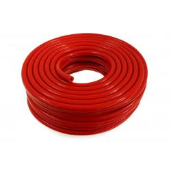 Silicone braided vacuum hose 8mm, red