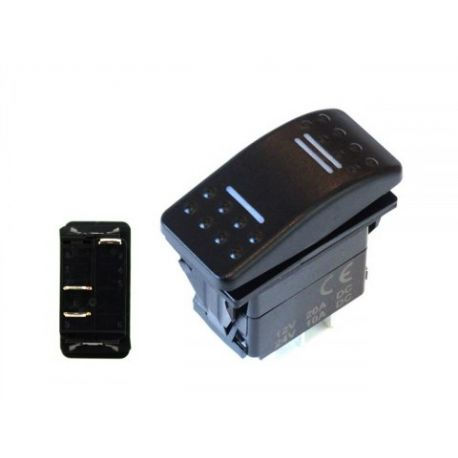 Start buttons and switches Universal rocker switch with LED | races-shop.com