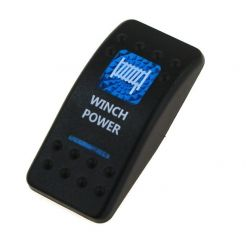Cover for universal rocker switch with LED