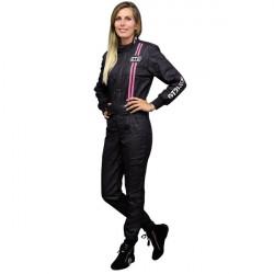 FIA race suit GT2i Race black / fuchsia