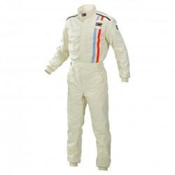 FIA race suit OMP classic cream