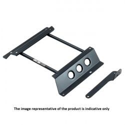FIA seat bracket SPARCO - Right, for Fiat Panda 169, 09/03-