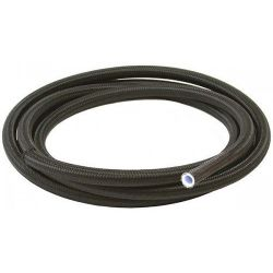 Stainless and Nylon braided teflon Hose AN6 (8mm)