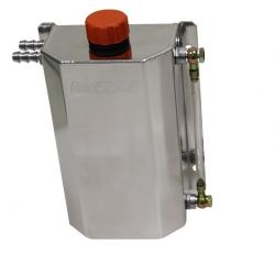 Oil catch tank REDSPEC Premium with two 12mm outputs - capacity 2l
