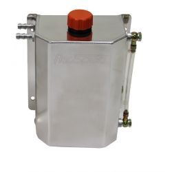 Oil catch tank REDSPEC Premium with two 12mm outputs - capacity 3l