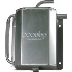 Oil catch tank OBP motorsport Race spec with 10mm outputs - capacity 1,5l
