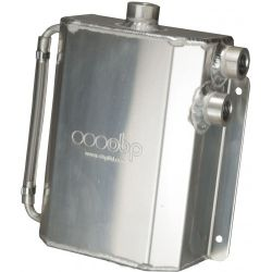 Oil catch tank OBP motorsport Race spec with AN8mm outputs - capacity 2l