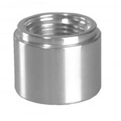 Weld on fitting- female AN6, aluminium
