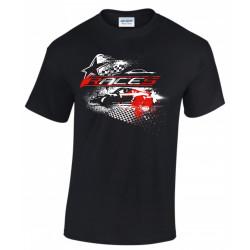 T-shirt RACES star black