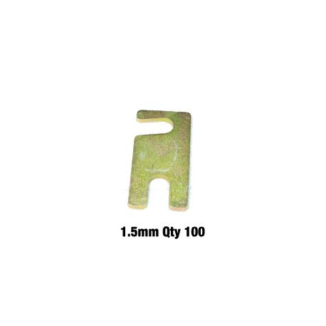 Whiteline sway bars and accessories Alignment shim pack - 1.5mm bulk   races-shop.com