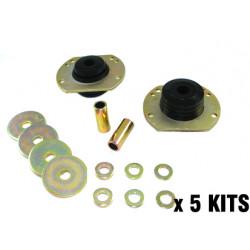 Caster correction - radius rod to chassis bulk