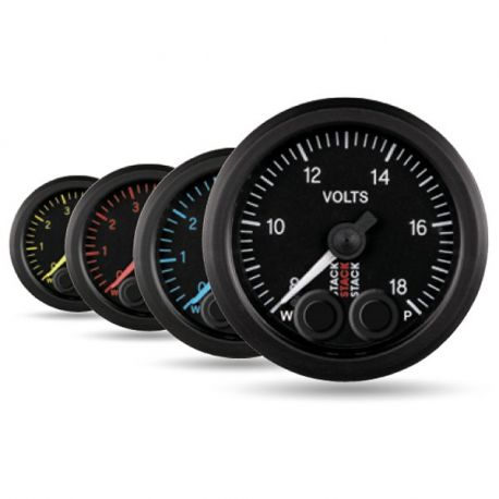 Gauges STACK Pro-Control series 52mm STACK Pro-Control gauge battery voltage | races-shop.com