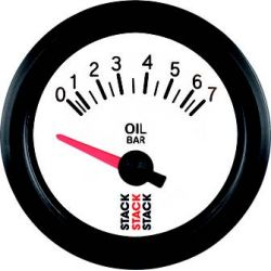 STACK gauge oil pressure 0 -7 bar (electrical)