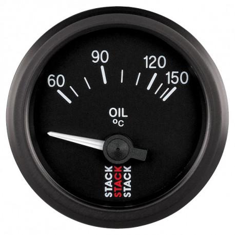 GAUGES STACK standard SERIES 52MM STACK gauge oil temperature 60- 150°C (electrical) | races-shop.com