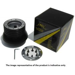 Steering wheel hub - Volanti Luisi - VOLVO S 80 from 02, models with airbag