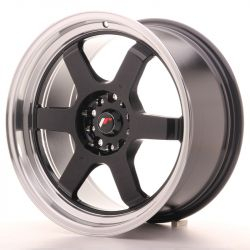 JR Wheel JR12 18x9 ET30 5x100/120 Gloss Black