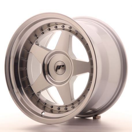 Japan Racing aluminum wheels JR Wheel JR6 17x10 ET20 Blank Mach Silver | races-shop.com